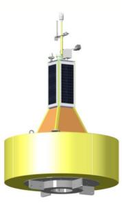 MK-IV 3Metres Oceanographic Data Buoy